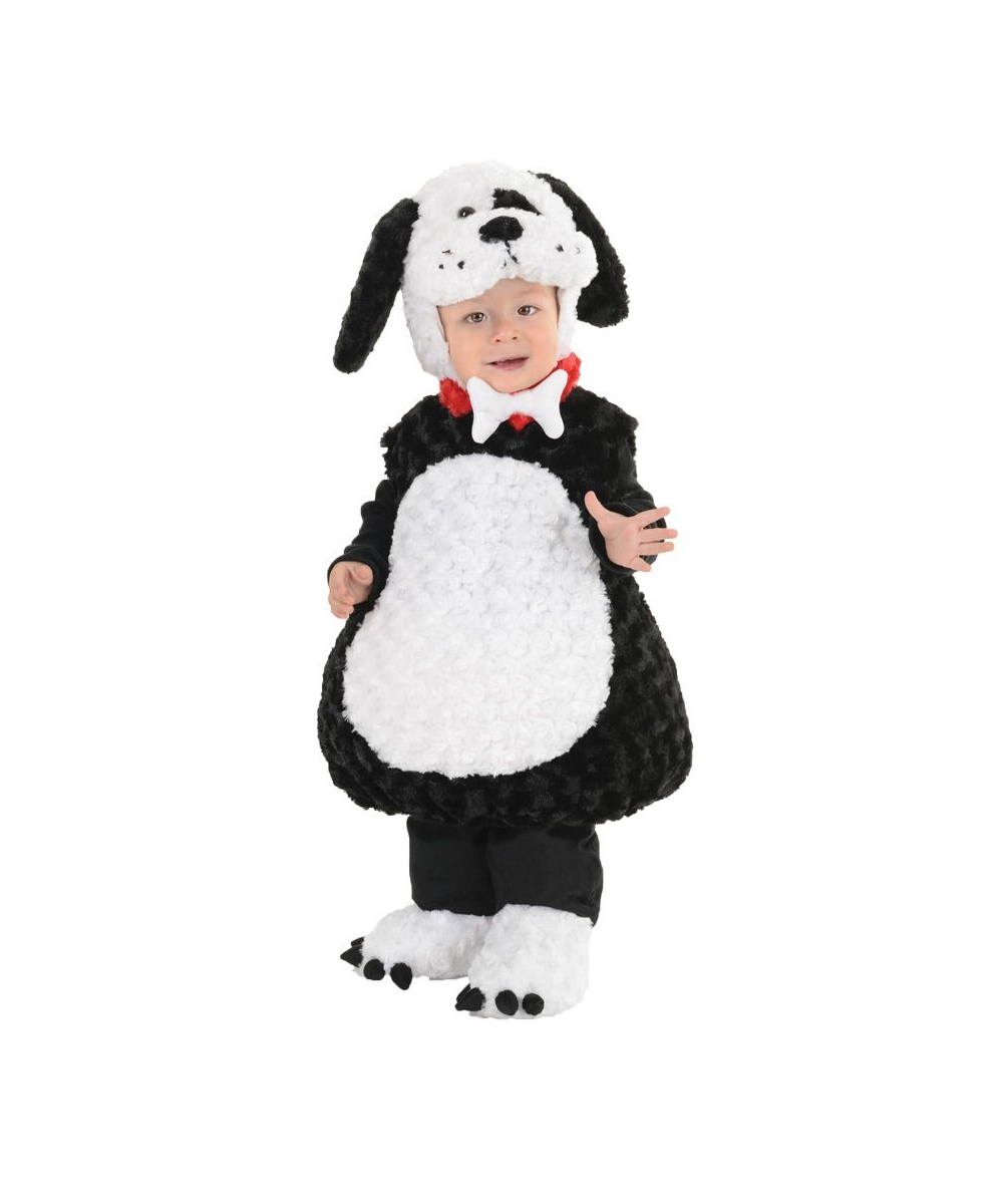 black puppy dog toddler costume