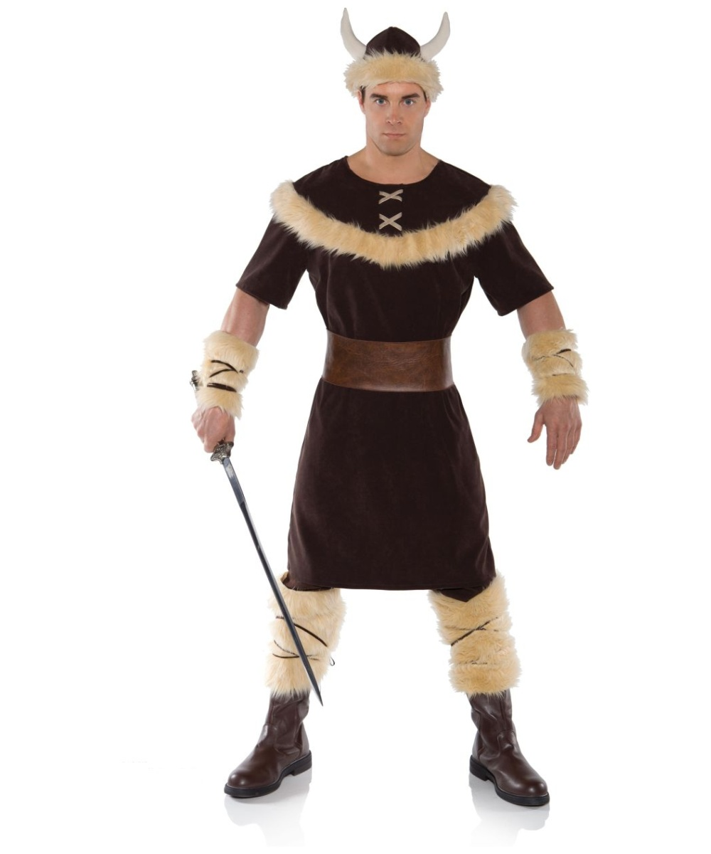Viking Norse Warrior Mens Costume Men Costume
