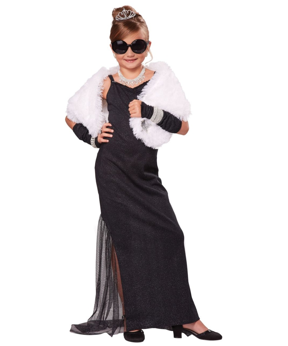 Vintage Hollywood Diva Girls Costume