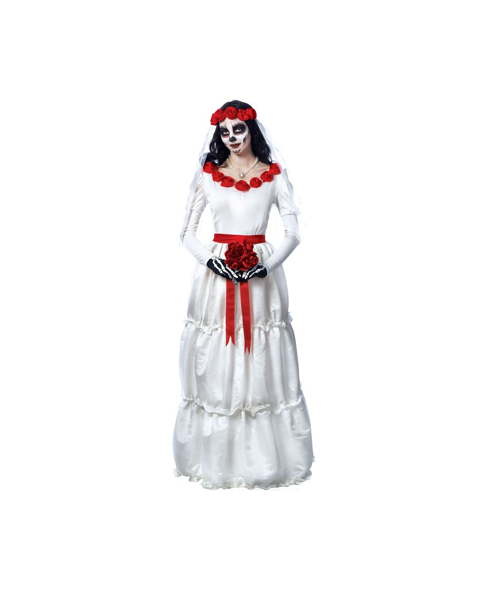 Day Of The Dead Bride Women\'s Costume - Women Costume