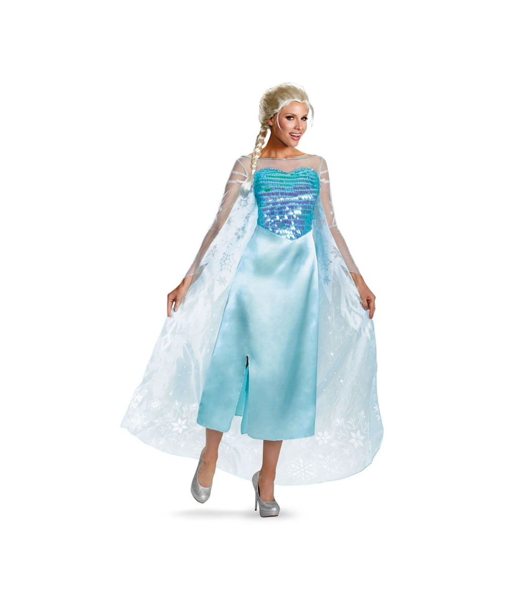 Womens Disney Frozen Elsa Costume