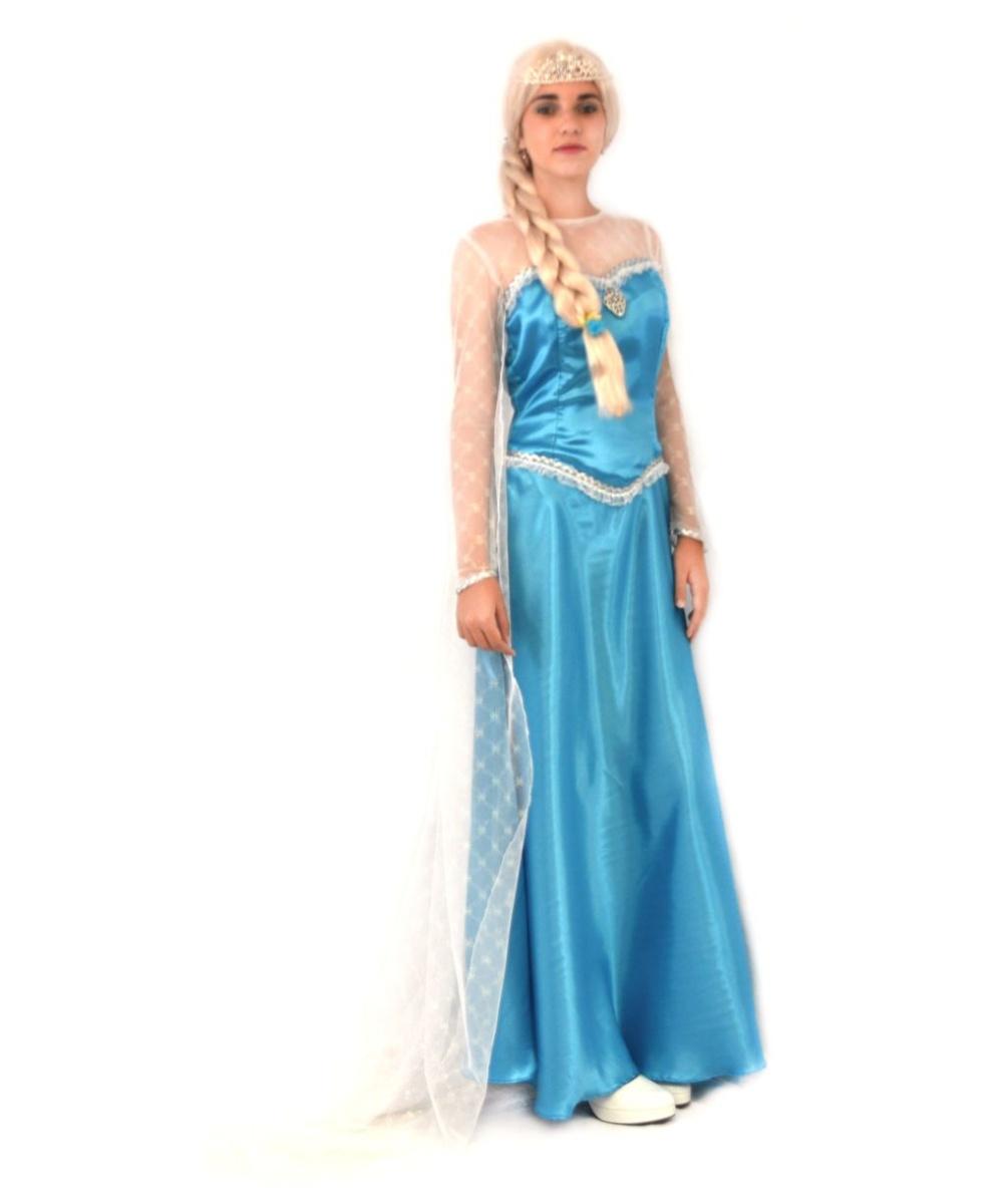 sc 1 st  Wonder Costumes & Frost Princess Elsa Womens Cosplay Costume - Women Costume