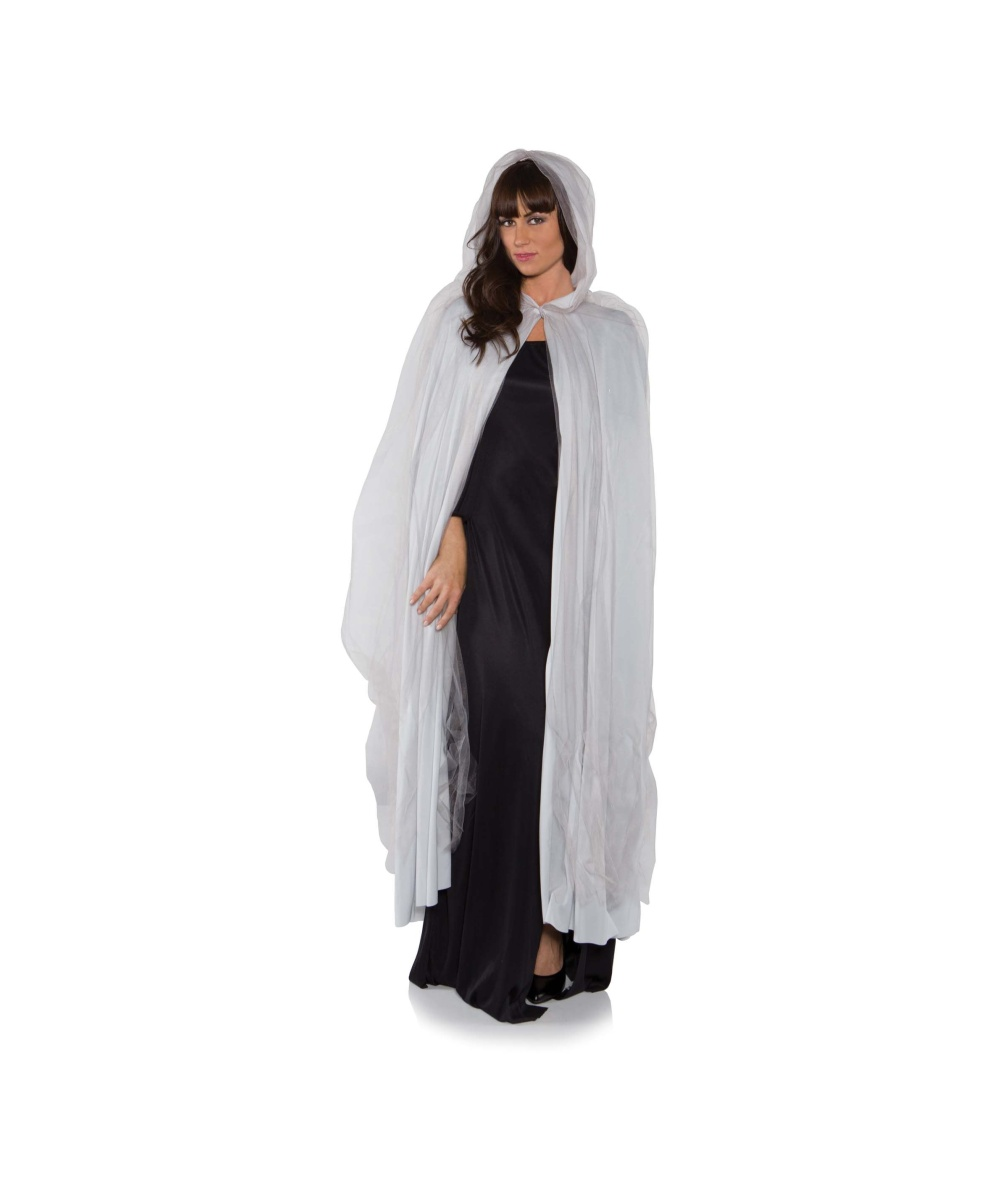 Grey Ghost Womens Cape Women Costume