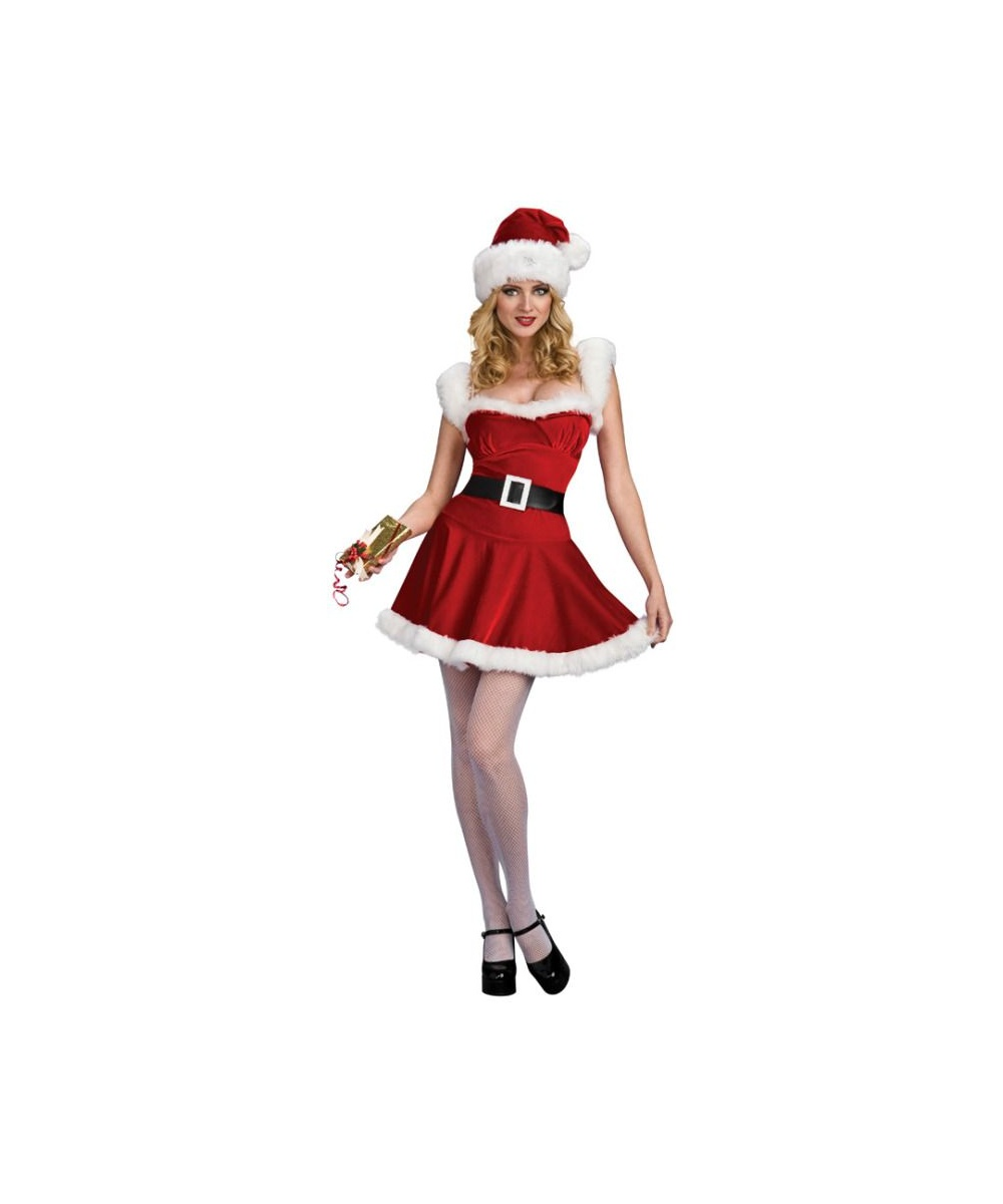 Womens Jingle Christmas Costume