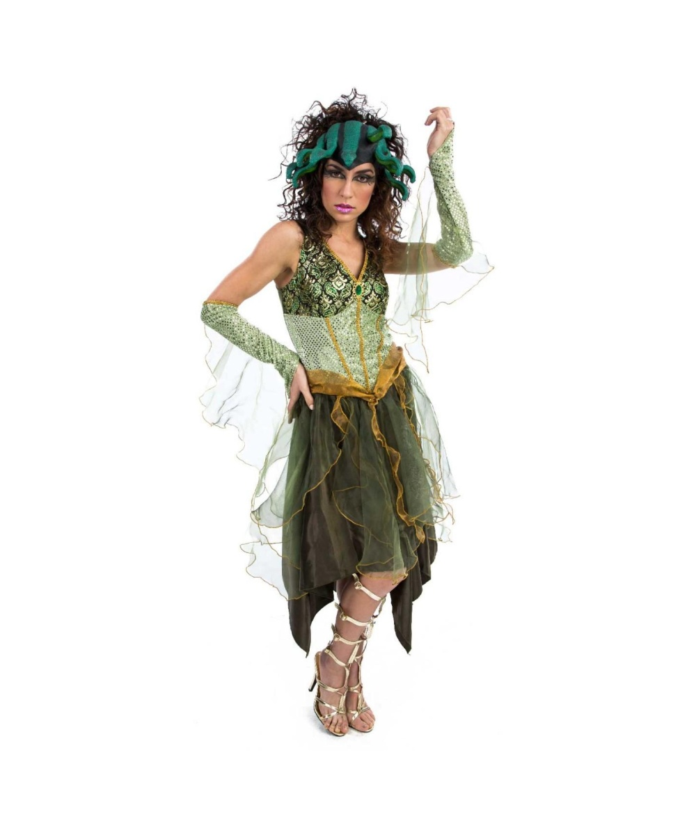 medusa costumes: if you go greek, go dark!