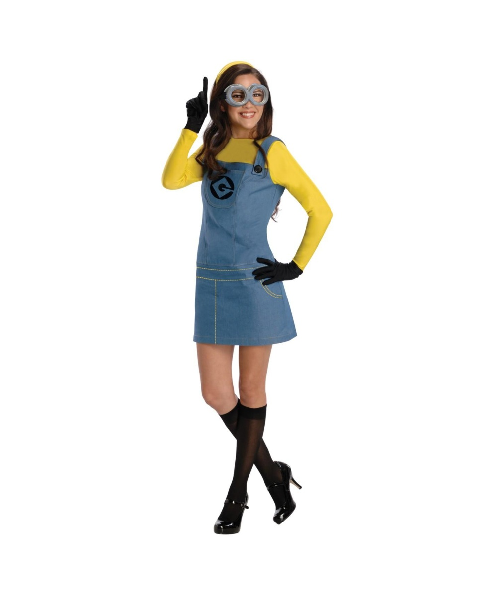 Despicable Me 2 Lady Minion Womens Costume Movie Costumes