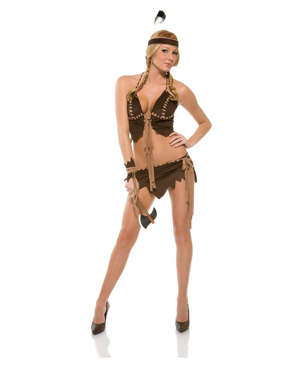 naughty navajo womens costume - indian costumes