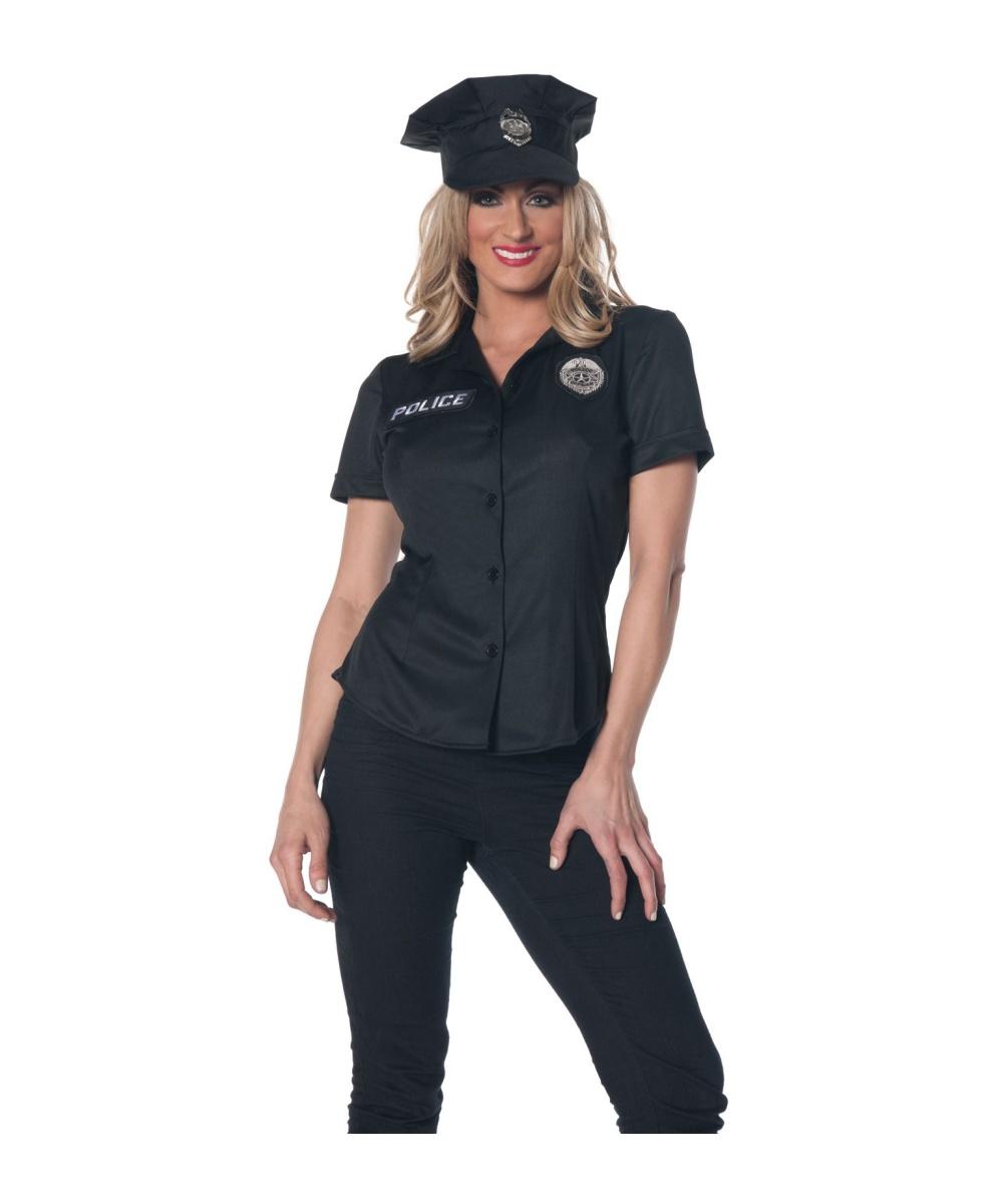 Female traffic warden in heat 2of2 french oo - 2 1