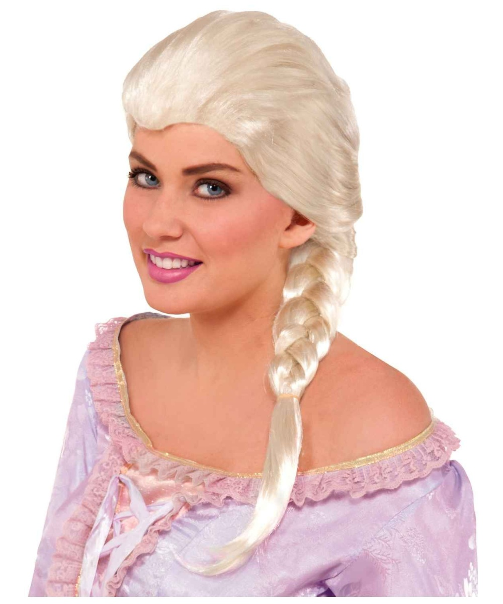 Womens Princess Elsa Wig