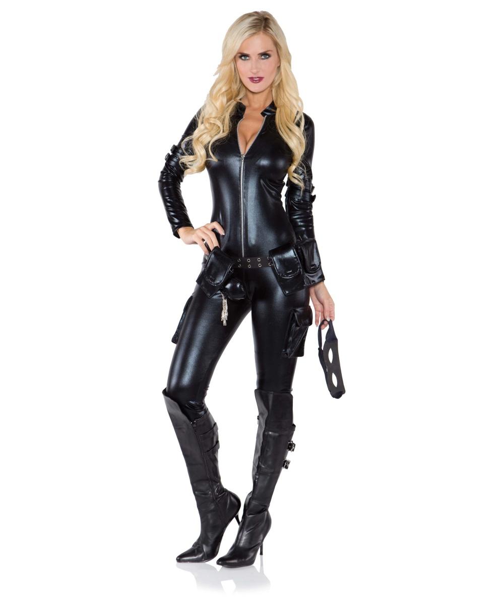 Sexy thief womens costume women costume - Deguisement james bond girl ...