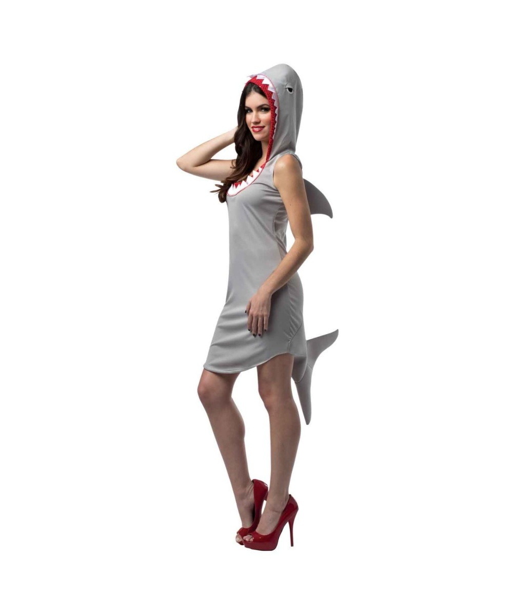 Womens Shark Dress Costume
