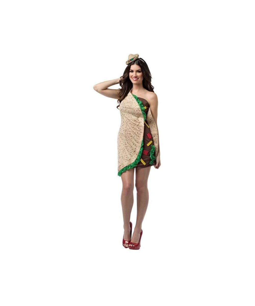 Womens Spicy Taco Costume
