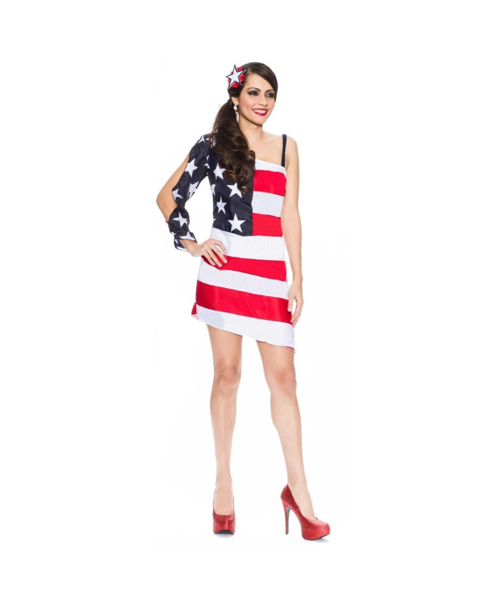 eacc157c17 Star Spangled Sweetie Womens Costume - International Costumes