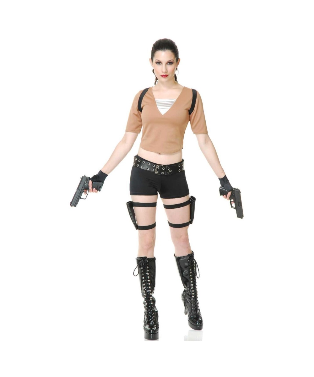 lara croft tomb raider womens costume video game costumes. Black Bedroom Furniture Sets. Home Design Ideas