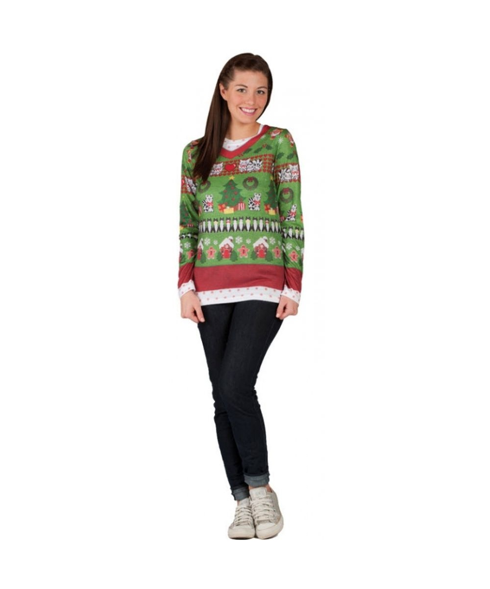 Womens Ugly Christmas Sweater Costume