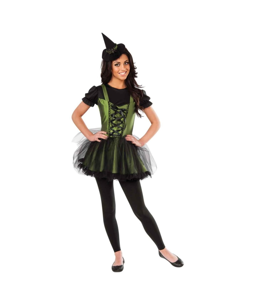 Wizard Of Oz Wicked Witch Of The West Young Womens Costume - Witch ...