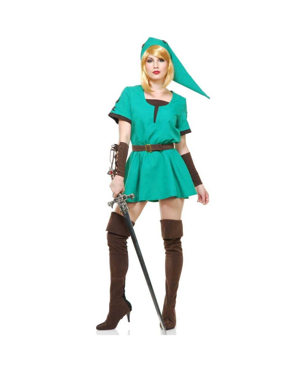 zelda link womens costume video game costumes