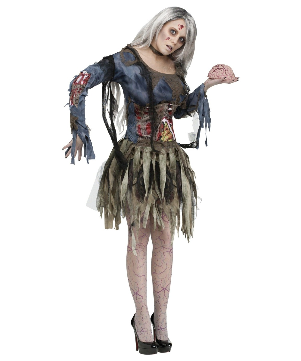 Halloween Zombie Costumes For Girls.Zombie Womens Costume Women Costume