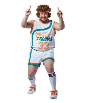 70s plus size Basketball Uniform Costume