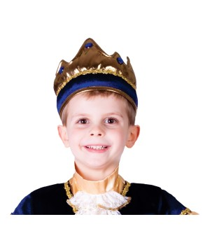 Boys Blue King Crown