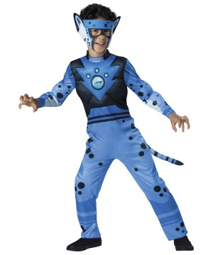 Boys Cheetah Wild Kratts Costume