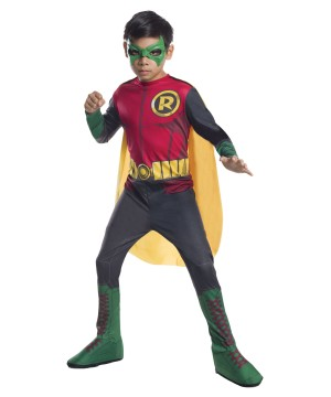 Boys Dc Comics Robin Costume