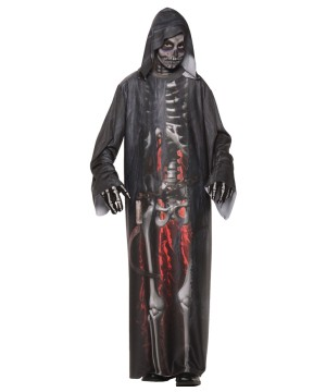 Grim Reaper Robe Boys Costume