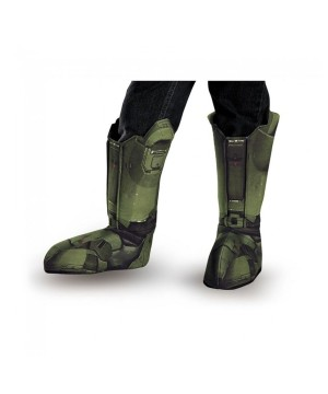 Master Chief Halo Boys Boot Covers