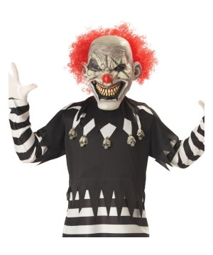 Boys Maniac Clown Costume