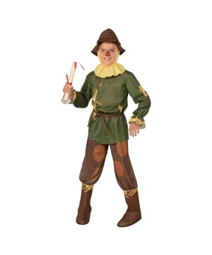 Boys Scarecrow Wizard Oz Costume