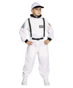 Shuttle Commander Astronaut Boys Costume