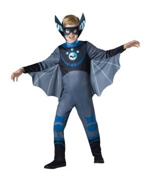 Blue Bat Wild Kratts Boys Costume
