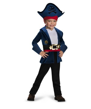 Captain Jake Toddler Never Land Pirates Costume