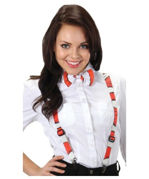 Cat in the Hat Striped Suspenders