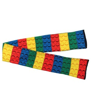 Color Brick Block Scarf