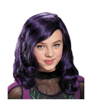 Descendants Disney Mal Wig