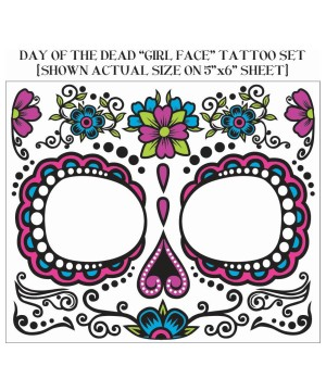 Face Death Day Dead Tattoo