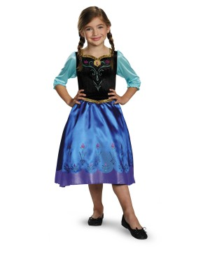 Frozen Anna Classic Girls / Toddler Disney Costume