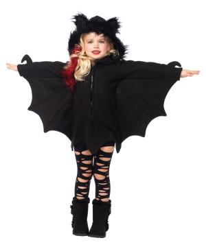 Girls Bat Cozy Costume