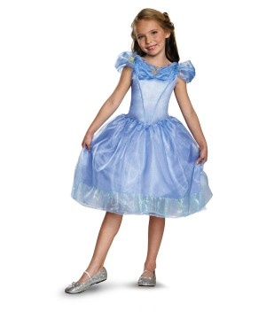 Girls Cinderella Disney Movie Costume