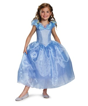 Girls Disney Cinderella Movie Costume