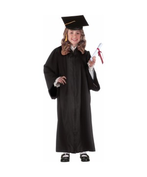Girls Graduation Robe Costume