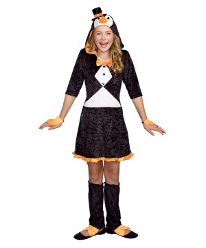 Girls Happy Beak Penguin Costume  sc 1 st  Halloween Costumes & Penguin Costumes - Cute Penguins for kids and adults