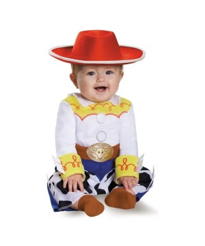 Girls Jessie Baby Costume