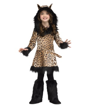 Girls National Leopard Costume