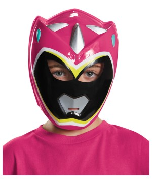 Girls Ranger Dino Charge Vacuform Mask