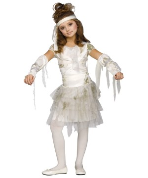 Girls Spooky Mummy Costume