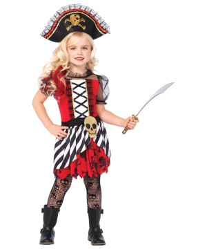 Girls Treasure Pirate Costume