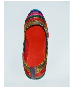 Hand Woven Embroidered Shoes