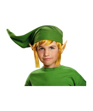 Link Boys Hylian Ears Hat and Wig Accessory Kit